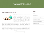 National Fitness - Palestra