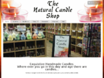 Home - The Natural Candle Shop - Soy Candle, Handmade Candles, Essential Oils, Melts, Container