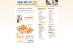 Naučím. cz - celostátní databáze lektorů. Doučování, výuka jazyků.
