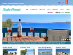 Naxos Studios Thomais, Saint George Beach, Naxos Town, Cyclades, Greece