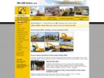 UNEX - Stavební stroje, bagry, náhradní díly – NDLOR Uničov, a. s.