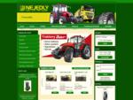 NEJEDLÝ s. r. o. - náhradní díly a traktory ZETOR, agrodíly na zahraniční stroje, pneumatiky, aut