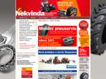 Nekvinda - zemědělská technika - Zetor, ZTS - autobaterie Sznajder
