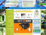 Modélisme Net-Loisirs spécialiste aéromodélisme, drones RC, voitures RC, hélicoptères RC, avions