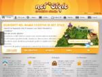 Realizzazione siti internet web 3D Arezzo grafica pubblicitaria flash video Net Style