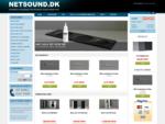Køb højttalere, surround sound og tilbehør hos Netsound. dk - Netsound. dk
