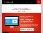 Web Design Agency in North Sydney - Website Designers | Neubreed