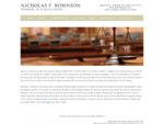 Nicholas P. Robinson Lawyers Merchant Law Group LLP