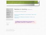 Νικόλαος Κατσίπης Μαθηματικός-Nikolaos Katsipis Mathematics