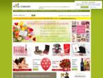 Cvetličarna, darila, dostava | Nina in Valentin - dostava cvetja in daril za vse priložnosti