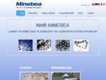 Minebea - Moteurs de précision, roulements à billes, rotules et moteurs pas à pas