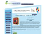 Boekhandel Internetboekhandel. nl. Een winkelstraat vol boeken.