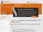 Noina. dk - Batterier af bedste kvalitet til de bedste priser! - Butiks information