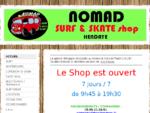 NOMAD Surf Shop - NOMAD Surf Shop Hendaye