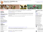 Nopat ja Taktiikka Ry - sotapelit, lautapelit, miniatyyripelit, historiaa, askartelua ja muuta p