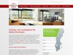 Fönster, dörrar och fönsterbyte med prisgaranti - NorLux Fönster