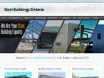 Welcome to NorthWindsconst. ca! Steel Buildings Ontario is dedicated to building a superior steel bu