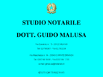STUDIO NOTARILE, DOTT. GUIDO MALUSA