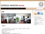 Notaio Giorgia Manzini Reggio Emilia