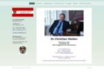 Dr. Christian Haiden, öffentlicher Notar in Klagenfurt, Tel: 0664/2013176 - Dr. Christian Haiden Ö