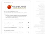 Goedkoopste Notaris - Goedkope notaris NotarisCheck voor de goedkoopste notaris tarieven!