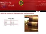 Notár Bratislava, notársky úrad - Notársky úrad JUDr. Oľgy Folbovej