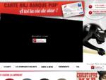 Carte NRJ Banque Pop' - Accueil