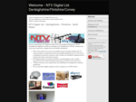 Welcome - NTV Digital Ltd. DenbighshireFlintshireConwy