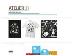 Atelier 01.. Logotypy a značky, Grafický design, Firemní design, Corporate design, Corporate i