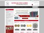 Vente de monnaies françaises et étrangères, dans toute la France, avec Numismatique Tours, vendeur ...