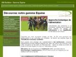 Complements nutritionnels pour chevaux - DM Nutrition - www. nutri-animaux. fr