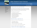 New Zealand Coach Service - bus and coach hire, Wellington, Porirua, Hutt Valley, Kapiti Coast