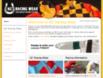 NZ RACING WEAR ~ High Quality Racing Colours - Design your own lightweight and easy care Raceday Col