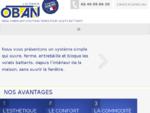 La motorisation de volets battants grâce à L'AUTOMATE ® d'OBAN | Accueil