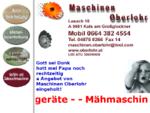Landmaschinen Oberlohr Josef Kals Grossglockner