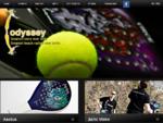 Ρακέτες Θαλάσσης, Carbon, Beach Racket, Odyssey Rackets