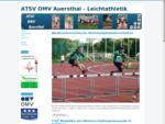 Offizielle Homepage des ATSV OMV Auersthal, Sektion Leichtatlethik