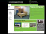 Office furniture, used office furniture, second hand office furniture, Office Clearance Company,