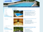UAB quot;Okeanaquot; - baseinų, pirčių, fontanų, tvenkinių įranga ir įrengimas