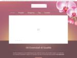 Olio essenziale, e-commerce