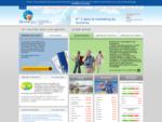 OmniGeo - recherches touristiques en ligne, site interactif avec formulaire de recherches.