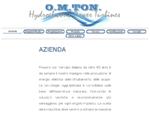O. M. TON. SRL - Impianti Idroelettrici Pelton Francis Kaplan - SOA OG9 ISO 90012008