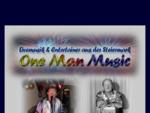 onemanmusic, Livemusik,Entertainer aus der Steiermark