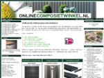 Composiet Vlonderplanken, Schuttingen, Terrasplank, Kunststof, Tuinschermen, Vlonderdelen, Vlo