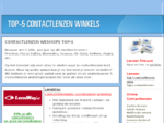 9658; Top 5 Contactlenzen Sites 9668; De beste sites met goedkope contactlenzen