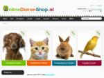 Online Dierenshop, Online Dierenshop de online dierenwinkel met volop dierenartikelen