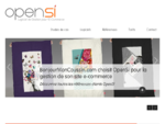 Couplage Site E-Commerce Gestion Commerciale ERP OpenSi (Comptabilité, Achats, Stock... )
