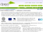 Internetiturundus OPTIM - reklaam internetis, SEO turundus ja internetireklaam, rahvusvaheline int