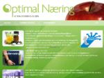 Forside - Optimal Næring