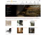Vente en ligne de poecirc;les agrave; bois, chemineacute;es et barbecues design - Option Design